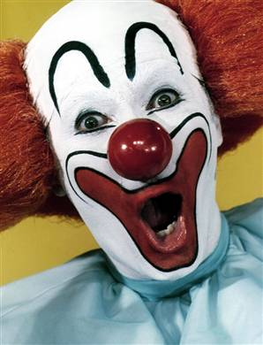 clown smile